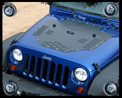 jeep hood louvers